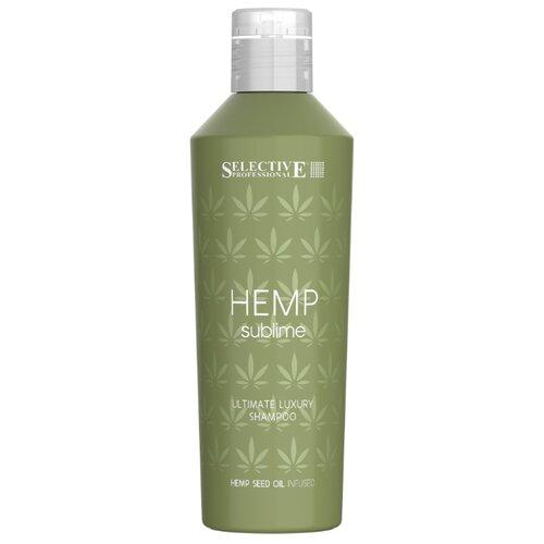 Фото - Selective Professional шампунь увлажняющий Hemp Sublime для сухих и поврежденных волос с маслом семян конопли, 250 мл активное мумиё увлажняющий шампунь для поврежденных волос 330 мл