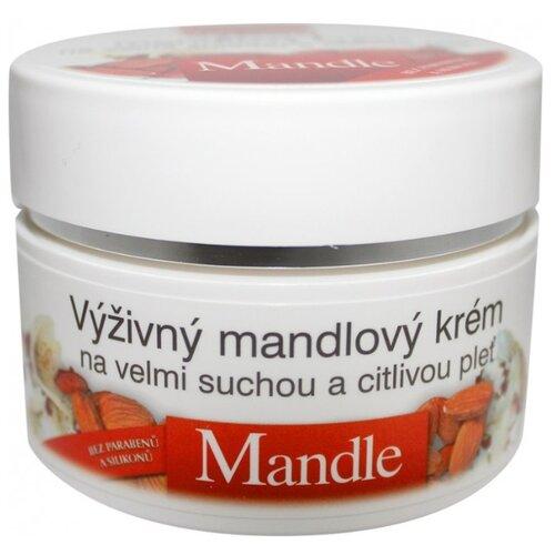 Bione Cosmetics Mandle натуральный питательный крем для лица, 51 мл eldan cosmetics питательный крем для кожи лица склонной к куперозу le prestige 50 мл