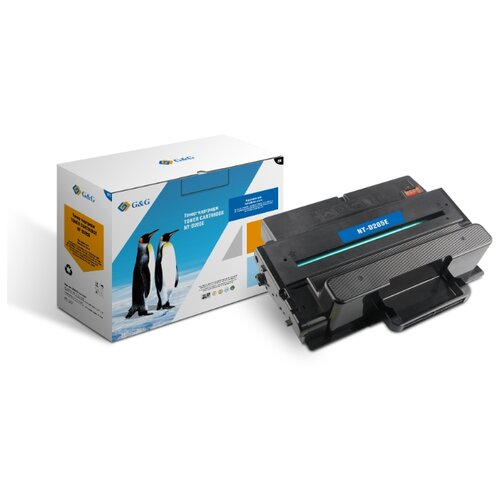 Фото - Картридж лазерный G&G NT-D205E черный (10000стр.) для Samsung ML-3710ND/ML-3712DW/SCX-5639FW/SCX-563 bion ptmlt d205e картридж для samsung ml 3710 scx 5637 10000стр [бион]