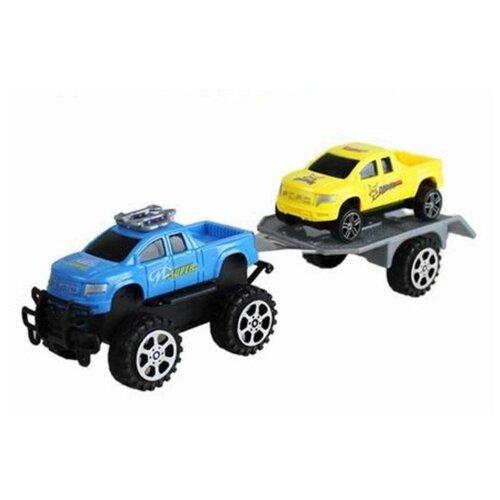 Купить Автовоз Yako Мир вокруг нас (M9780) синий/желтый, Машинки и техника