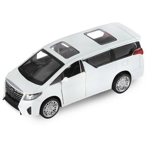 Купить Легковой автомобиль Автопанорама Toyota Alphard (JB1251029) 1:43 11.2 см белый, Машинки и техника
