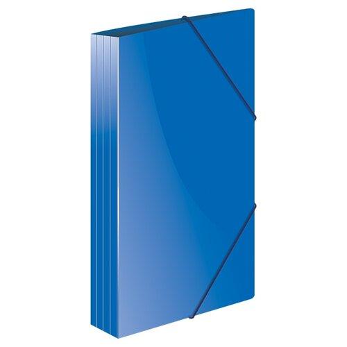 Купить Berlingo Папка на резинке Standard А4, пластик синий, Файлы и папки