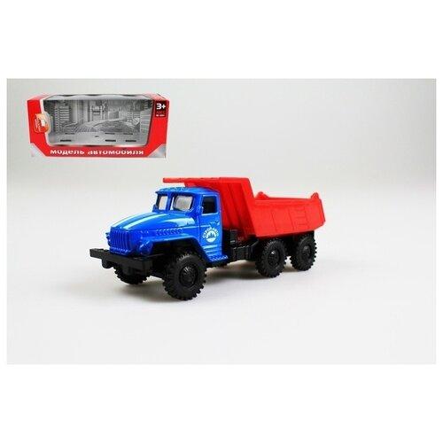 Инерционная металлическая машинка Строй-Авто, 15x18x5 см, арт. Y22679027