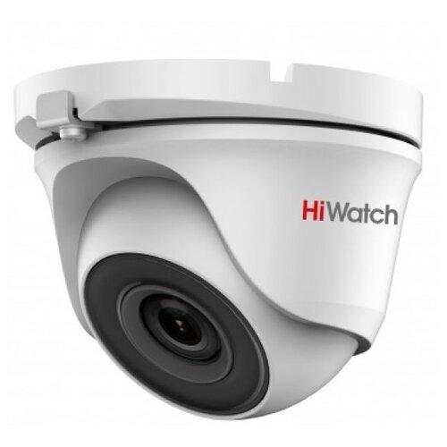 Фото - Камера видеонаблюдения HiWatch DS-T203(B) (3.6 мм) белый камера видеонаблюдения hiwatch ds t203 b 6 мм белый