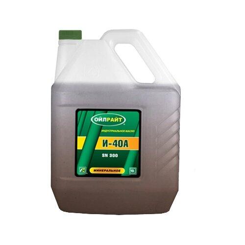 Индустриальное масло OILRIGHT И-40 А 10 л