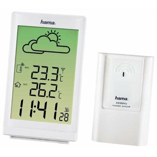 Термометр HAMA EWS-880 белый термометр hama th33 a черный 00123151