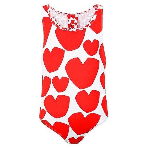 Купить Купальник Stella McCartney размер 128, красный, Белье и купальники