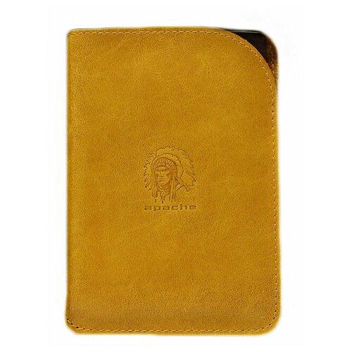Обложка для паспорта Apache ОП-А, желтый