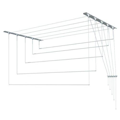 Сушилка для белья Лиана настенно-потолочная металлическая 1,2 м