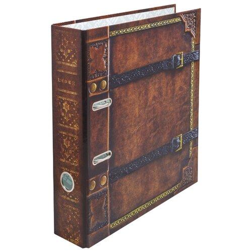 Купить Index Папка-регистратор 80 мм, ламинированная Антикварная книга, Файлы и папки