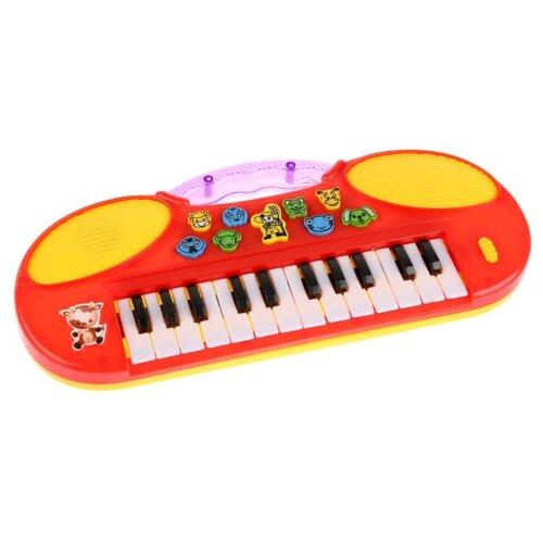 Купить Умка пианино 1003M095 красный, Детские музыкальные инструменты