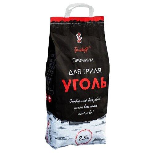 Grillkoff Уголь березовый для гриля «Премиум», 2.5 кг