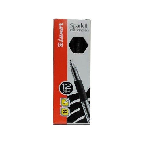 Фото - Luxor Набор шариковых ручек Spark II, 0.7 мм, 12 штук, черный цвет чернил luxor набор капиллярных ручек luxor mini fine writer 045 20 цветов