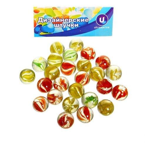 Декоративные камни Ultramarine Кристальный цветок красный/желтый/зеленый