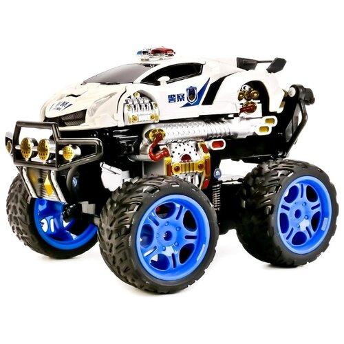 Робот-трансформер Guan Hui 9808-AA8 белый/черный/синий крем o hui