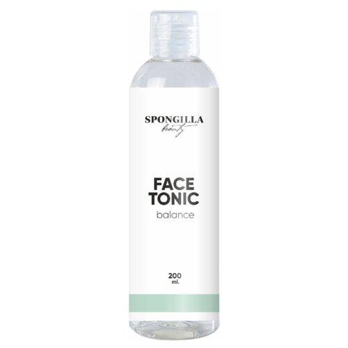 Тоник для лица Spongilla beauty для всех типов кожи Face tonic balance, 200 мл недорого