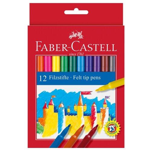 цена на Faber-Castell Набор фломастеров Замок, 12 шт. (554212)