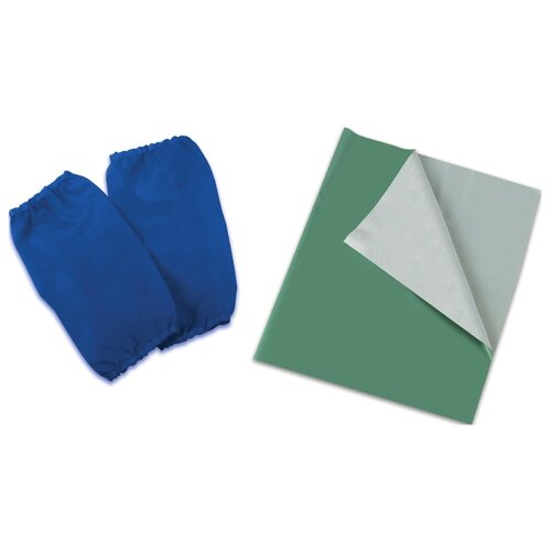 Пифагор Набор для уроков труда и занятий творчеством (227058/227059) зеленый/синий