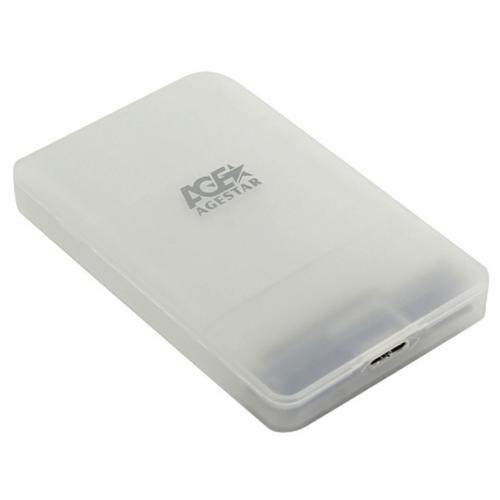 Корпус для HDD/SSD AGESTAR 3UBCP3 белый