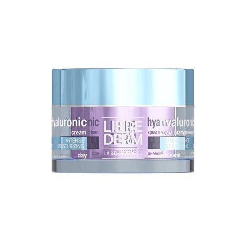 Librederm Hyaluronic Intense Moisturizing Day Cream SPF15 Гиалуроновый дневной крем для лица Интенсивное увлажнение SPF15, 50 мл недорого
