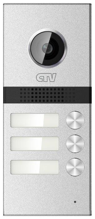 Вызывная (звонковая) панель на дверь CTV D3Multi серебро