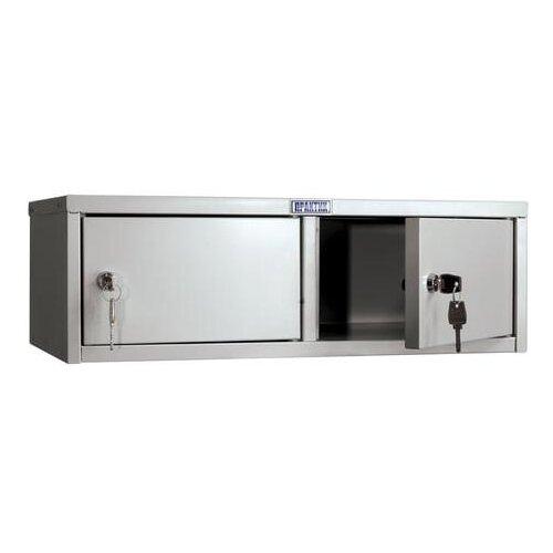 """Шкаф кассира ПРАКТИК """"AMB-15/2"""" на 2 отделения, 196х600х330 мм, ключевые замки, собранный"""