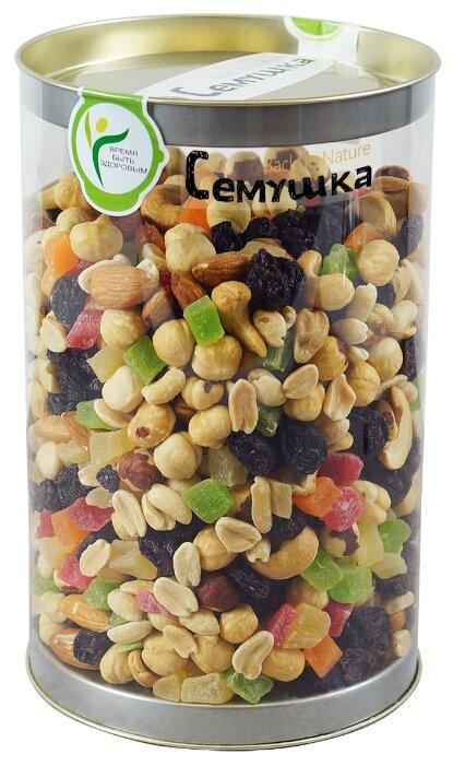 Смесь орехов, сухофруктов и цукатов Семушка сладкая 1000 г