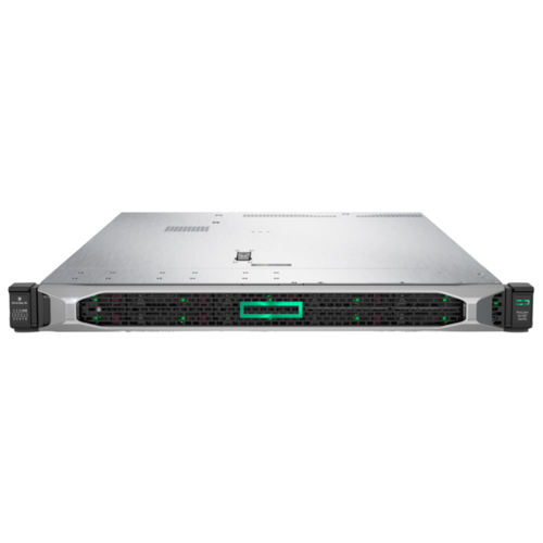 Купить Сервер Hewlett Packard Enterprise ProLiant DL360 Gen10 (P03634-B21) 1 x Xeon Bronze 3104 1.7 ГГц/8 ГБ DDR4/без накопителей/1 x 500 Вт/LAN 1 Гбит/c