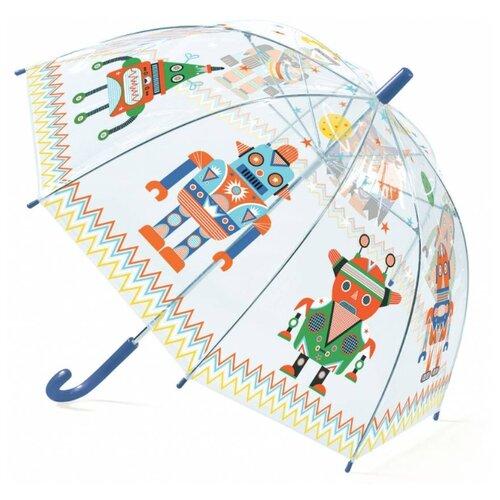 Зонт DJECO прозрачный/зеленый/синий