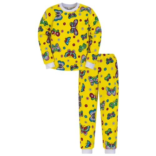 Пижама Утенок размер 110, желтый по цене 450
