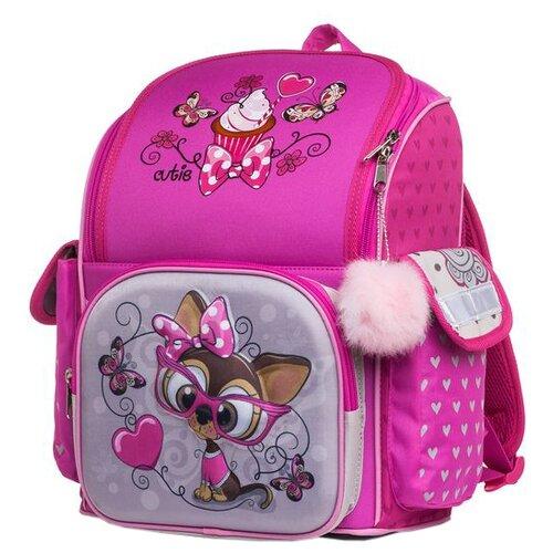 Купить Hatber Рюкзак Comfort school Funny dog NRk_33063, розовый, Рюкзаки, ранцы