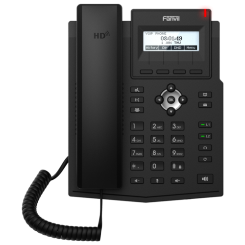 Фото - VoIP-телефон Fanvil X1SP черный voip телефон fanvil c400