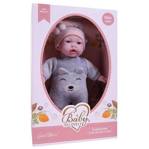 Кукла Junfa toys Baby so lovely, 28 см,1910-2 пупс junfa toys baby so lovely 30 см 1917 2