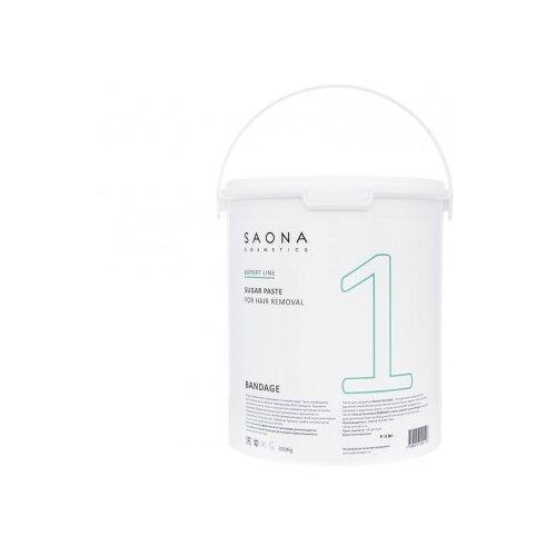 Паста для шугаринга Saona Cosmetics Expert Line 1 Бандажная 3500 г