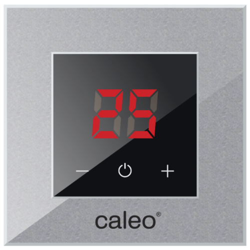 Фото - Терморегулятор Caleo Nova алюминиевый терморегулятор caleo 620 белый