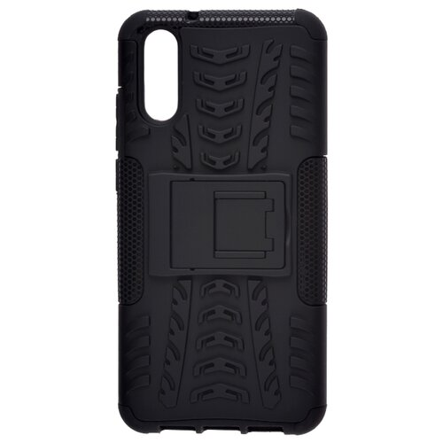 Пластиковый чехол для телефона skinBOX. Defender, для Huawei P20 цвет черный чехол для сотового телефона skinbox lux 4660041407143 черный