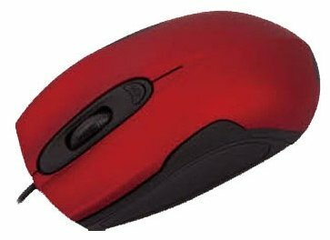 Мышь Aneex E-M0727 Red-Black USB