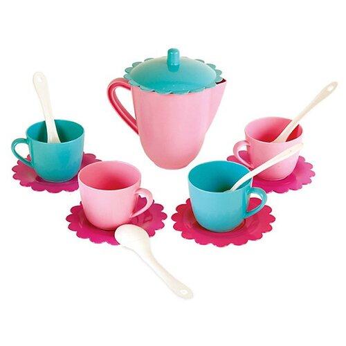Фото - Набор посуды Mary Poppins Зайка 39322 розовый/бирюзовый сумка бочонок mary poppins зайка 530035 пластик розовый голубой