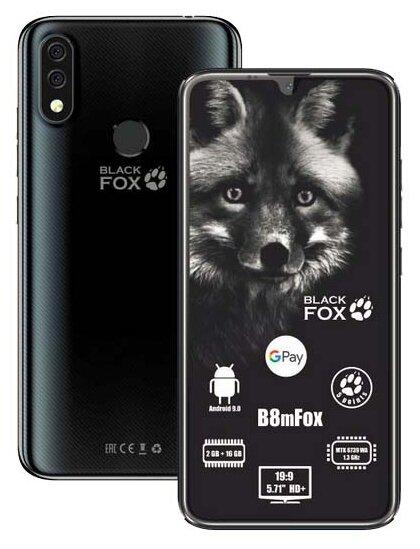 Смартфон Black Fox B8mFox — купить по выгодной цене на Яндекс.Маркете