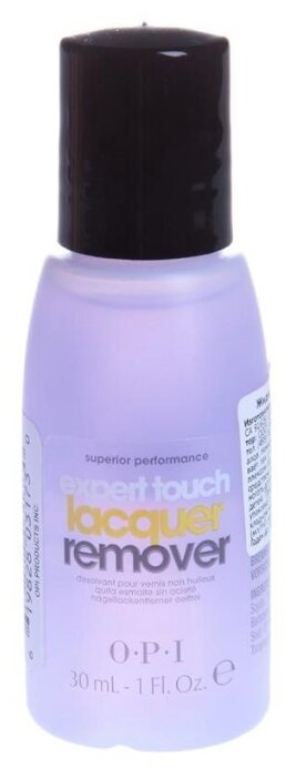 Жидкость OPI Expert Touch Lacquer Remover 30 мл