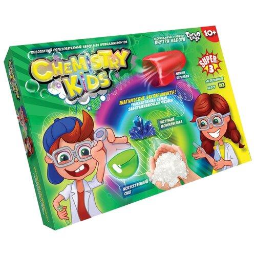 Купить Набор Danko Toys Chemistry Kids Магические эксперименты Набор 3, 3 опыта, Наборы для исследований