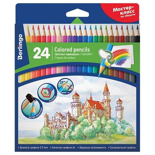Фото - Berlingo Карандаши цветные Замки цвета (CP00124) замки