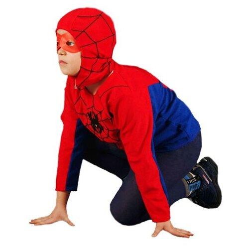 Купить Костюм Бока Человек-паук (975), синий/красный, размер 122-134, Карнавальные костюмы