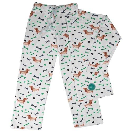 Купить Пижама Marengo Textile размер 140, молочный, Домашняя одежда