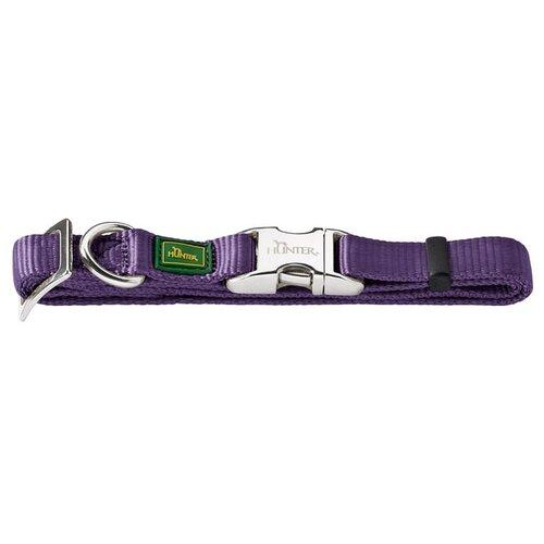 Ошейник HUNTER Basic Alu-Strong S 30-45 см violet ошейник hunter basic alu strong s 30 45 см red