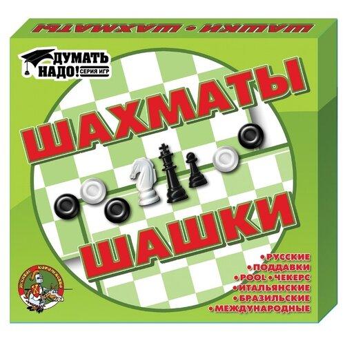 Десятое королевство Шашки и шахматы десятое королевство шашки русские и международные 00105
