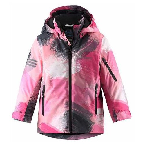 Куртка Lassie 721730 размер 128, оранжевый куртка lassie by reima 721654 размер 128 см цвет 3511
