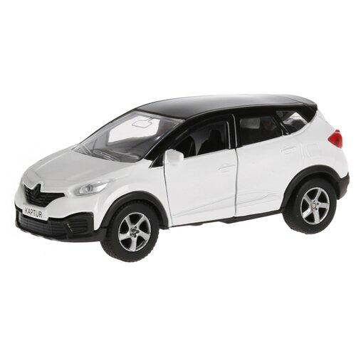 Купить Легковой автомобиль ТЕХНОПАРК Renault Kaptur 1:36 12 см белый, Машинки и техника