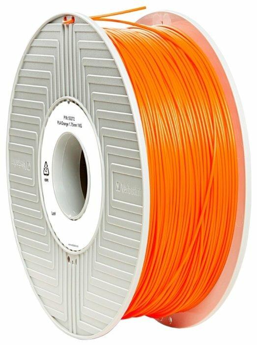 PLA пруток Verbatim 1.75 мм оранжевый