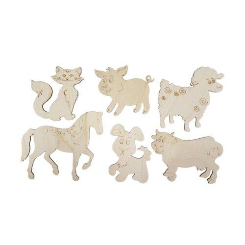 Astra & Craft Деревянная заготовка набор Домашние животные (L-712)